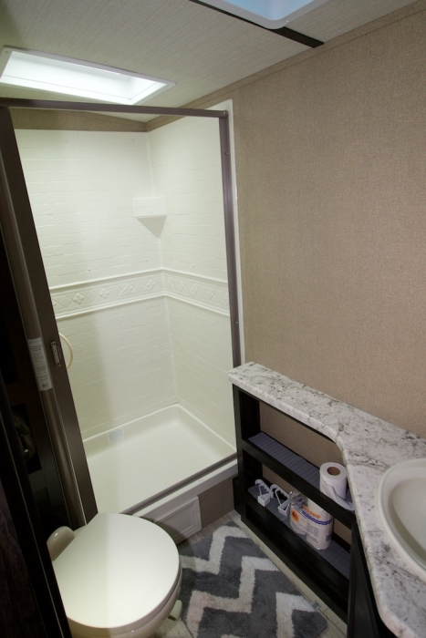 Bon RV Travel Trailer Bathroom