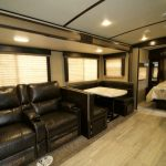 Travel Trailer Rental Living Room