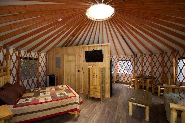 Yurts In North Carolina Glamping Mountain Stream Rv Park