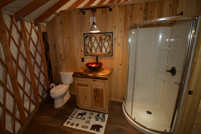 Yurts In North Carolina Glamping Mountain Stream Rv Park