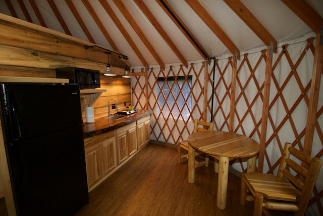 Yurts for Rent near Pisgah National Forest